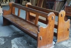 Church Pews in Pitch Pine
