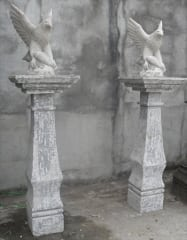 Eagles mounted on a Plinth