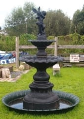 Large Cast Iron Fountain