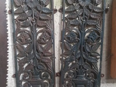 Cast Iron Wall Panels