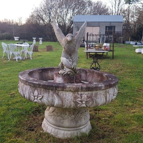 Eagle and Fountain