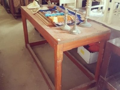 Pitch Pine High table