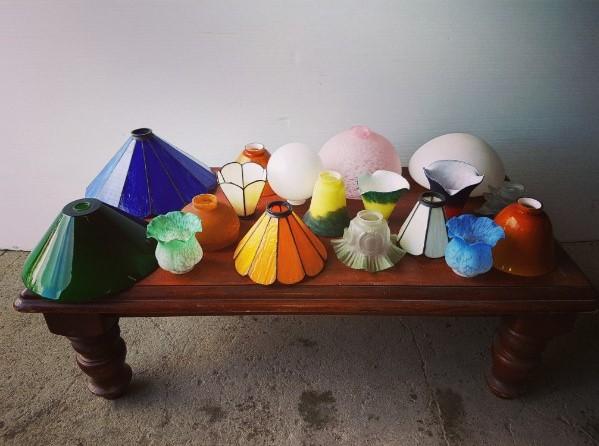 Selection of lamp shades