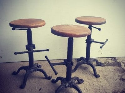 Timber Seat Stools