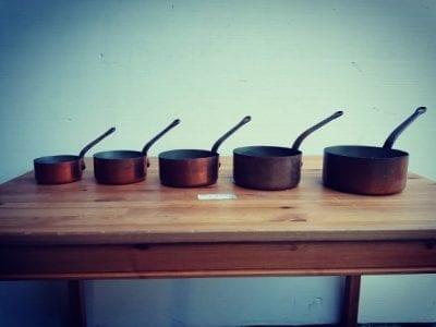 Antique style pots