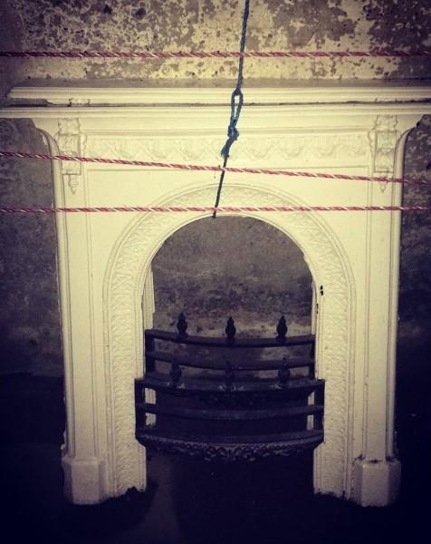 Cast Iron Fireplace - Pair