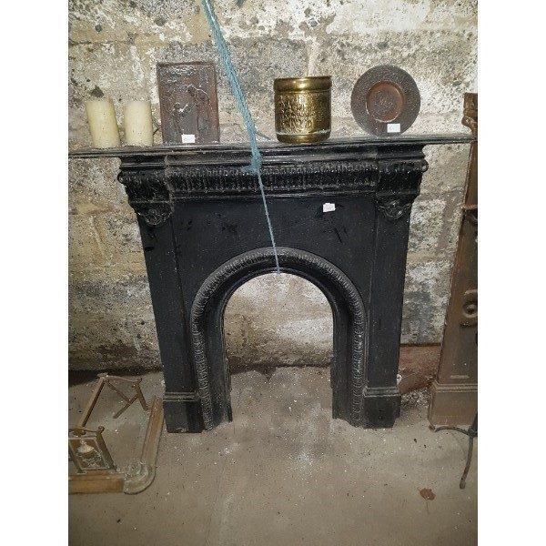 Cast Iron Fireplace black