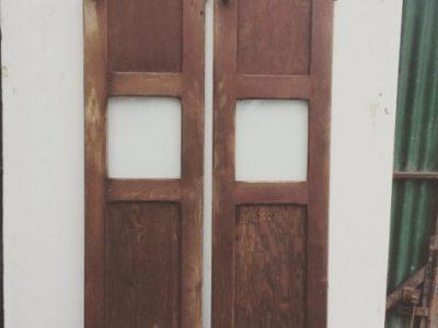 Pitch Pine Larder Doors