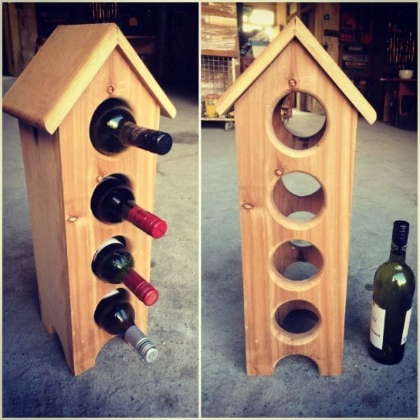 Wine Holder House