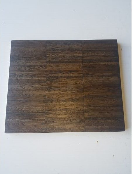 Flooring - Oak finger parquet dark