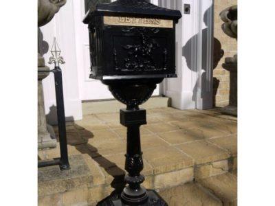 Freestanding Aluminium Post Box