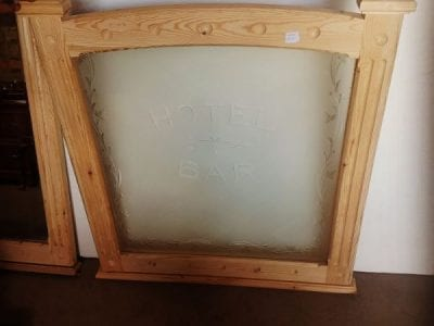 Hotel and Bar Frame