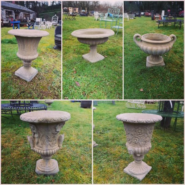 Stone Urn Selection